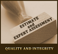Estimate and Expert Assessment - Quality and Integrity