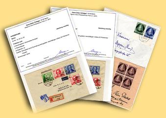 Briefmarken (Briefmarken- und Münzenhaus Finn)