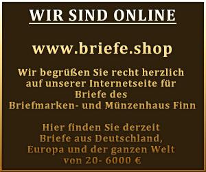 www.briefe.shop - Briefmarken- und Münzenhaus Finn